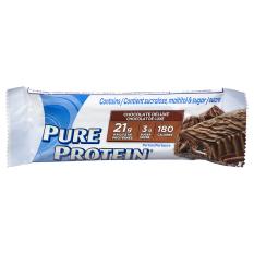 Bánh bổ sung Protein – PURE PROTEIN BAR CHOCOLATE -Tăng cường sức mạnh cơ bắp. – có 3 mùi vị khác nhau (1 thanh 50G)