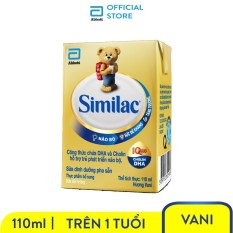 Thùng sữa bột pha sẵn Similac 4 110ml (48 hộp x 110ml) – HSD luôn mới