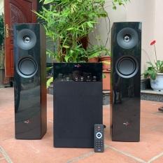 Dàn âm thanh nghe nhạc, karaoke – Loa cây vỏ gỗ SKY NEW model SKN 325 – Có kiển từ xa, bluetooth, nghe nhạc qua USB, thẻ nhớ SD