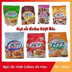 Ngũ cốc Calbee Nhật bản 800 g (trắng t4)