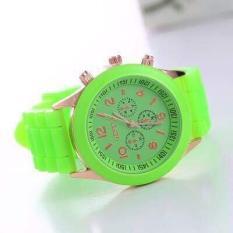 Đồng hồ thời trang nữ geneva khởi my K79 màu xanh lá K622