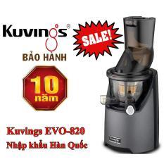 [ Rẻ Vô Địch] Máy Ép Trái Cây Kuvings EVO-820 nhập Hàn Quốc bảo hành 10 năm