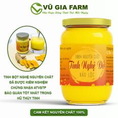 Tinh Nghệ Đỏ Nguyên Chất Vũ Gia (500g/hũ) – Hỗ trợ phục hồi sức khỏe, dạ dày tiêu hóa, đắp mặt dưỡng da xóa mờ thâm nám tàn nhang hiệu quả – Đã được kiểm nghiệm y tế