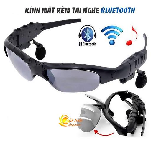 Mắt kính thông minh Bluetooth 5.0 mới nhất, Kính mát kiêm tai nghe Bluetooth sành điệu. Thông Minh Kết Nối...