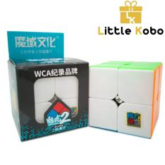 Rubik 2×2 Stickerless MoYu MeiLong MFJS Rubik 2 tầng