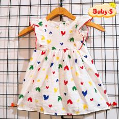 Đầm cánh tiên, đầm mùa hè cho bé gái 8-23kg chất đũi mềm mịn nhẹ mát siêu hot hit hè này cho bé đáng yêu mỗi ngày Baby-S – SD082