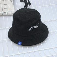 Mũ vải nữ họa tiết chữ SOSRKS
