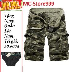 QUẦN SHORT Nam-QUẦN SHORT KAKI TÚI HỘP RẰN RI PHONG CÁCH MC-Store999