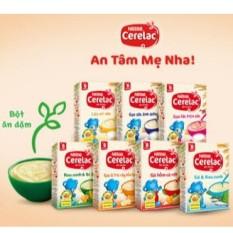 Bột Ăn Dặm Nestle Cerelac các loại date mới 2021 (Gạo Lức Trộn Sữa)