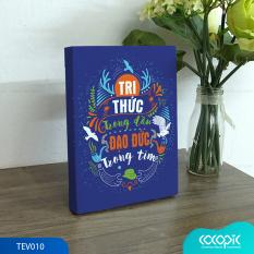 Tranh để bàn canvas slogan tạo động lực trang trí văn phòng Cocopic OFV103 – TEV010 20 mẫu tùy chọn