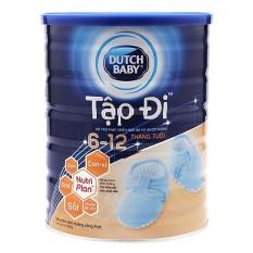 Sữa bột Dutch Baby Tập đi lon 900g (6-12 tháng) – HSD luôn mới