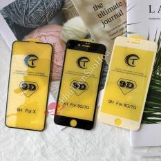 Kính cường lực 9D xịn Full màn cho Iphone Xs Max / XR / X / 6 / 7 / 8 / 6plus / 7plus / 8plus