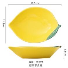 Chén đĩa ăn dặm hình hoa quả