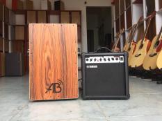 [EQ Loại Tốt] Cajon điện – Cajon có EQ/pick-up đưa âm thanh ra loa