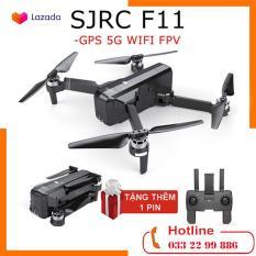 [ TẶNG THÊM 1 PIN ] Máy bay Flycam SJRC F11. Động cơ không chổi than. Camera 1080p. Bay 25 phút. Khoảng cách bay 1200m FPV 500m ( sjrc z5, bugs 5w, bugs 2w, bugs 2se, bugs 4w )