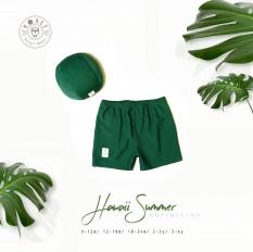 Set quần bé trai kèm mũ – thương hiệu Hrnee