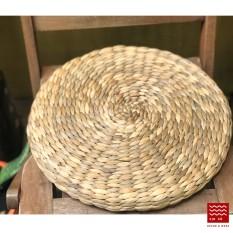 Đệm ngồi lục bình D40 x H5 cm/ Water hyacinth stool