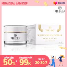 Kem dưỡng trắng da mặt Truesky chính hãng chiết xuất ngọc trai hồng y dạng lotion 10g – Whitening Face Cream