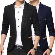 Áo Khoác Vest Nam Kaki Mềm Mịn Màu Đen Và Xanh Đen Thời Trang TCFashion – QN07219