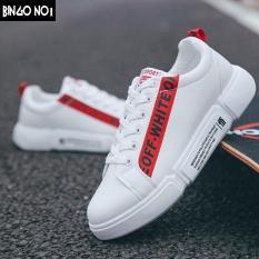 Giày Sneaker Nam Hàn Quốc Họa Tiết OFFWHITE Cực Chất – Thời Trang BINGO (ON01) – Giá Cực Sốc