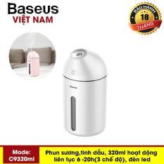 Máy phun sương, tinh dầu đa năng tạo độ ẩm chăm sóc da thương hiệu cao cấp Baseus C9 dung tích 320ml