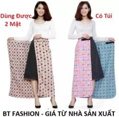 Váy Chống Nắng (Loại Tốt) 2 Lớp + 2 Mặt, Có Túi Tiện Lợi – BT Fashion – Giao màu ngẫu nhiên (PK-VCN1)