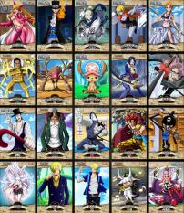Combo 10 Poster One Piece World Project – Khổ trung 20.3 x 28.7 cm