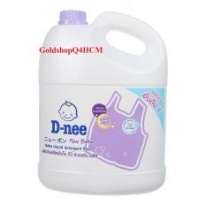 Nước giặt xả Dnee Thái Lan 3000ml -Màu Tím