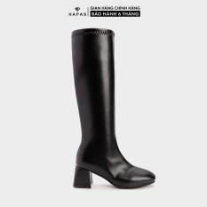 Giày Bốt Nữ Boot Đùi Khoá Cạnh 5Phân HAPAS – BOT560
