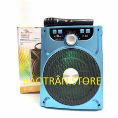 Loa bluetooth karaoke dòng P88, P89 tích hợp khe cắm USB và thẻ nhớ kết nối bluetooth 10m màu ngẫu nhiên tặng kèm micro
