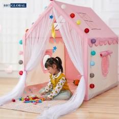 Lều hoàng tử công chúa cho bé chơi và ngủ BBT Global Y208 – nhà banh, quây bóng, do choi tre em