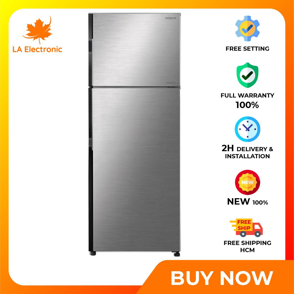 Trả Góp 0% – Tủ Lạnh Hitachi Inverter 290 lít R-H350PGV7 (BSL) – Bảo hành 12 tháng – Miễn phí vận chuyển HCM