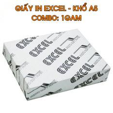 1 Gam Giấy in đơn hàng A5 Excel 70gsm bề mặt giấy mịn, thích hợp in các giấy tờ văn phòng, trường học, công ty – Giấy in Excel giá rẽ