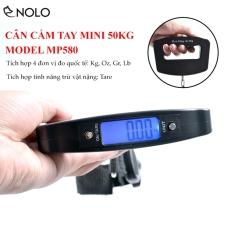 Bộ Cân Cầm Tay Mini MP580 Màn Hình Led LCD Tải Tối Đa 50kg Hỗ Trợ 4 Đơn Vị Cân Quốc Tế Dùng 2 Viên Pin Khô AAA