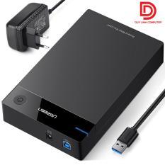 Hộp đựng ổ cứng HDD Box 3.5,2.5 inch chuẩn USB 3.0 Ugreen 50422