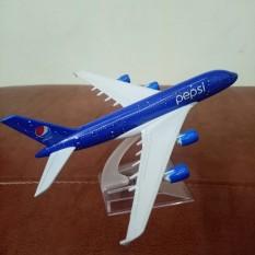 Mô hình máy bay tĩnh A380 Pepsi 16cm