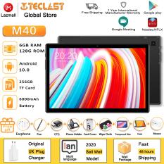 [Hàng Mới Về] Máy tính bảng Teclast M40 mới nhất Android 10.0 Bộ nhớ 6GB RAM 128GB ROM Màn hình 10.1 inch Camera 5MP+8MP Kép Chức năng gọi điện thoại Bluetooth 5.0 UNISOC T618 Octa Core