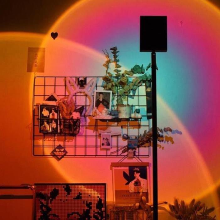 [RẺ VÔ ĐỊCH]Đèn Sống Ảo TikTok 🔆 Đèn hoàng hôn 🔆Đèn Led trang trí phòng 🔆