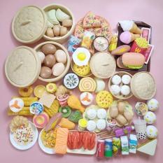 Bộ Đồ Chơi Nấu Ăn Nhà Bếp 84 Chi Tiết Cho Bé