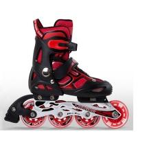 Giày patin trẻ em CG-835LSG – Giày patin trẻ em bánh đầu có đèn, 3 bánh cuối là cao su