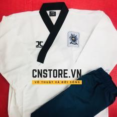 Quần Áo Võ – Võ Phục Taekwondo Quyền Vải Sọc JC Cao Cấp