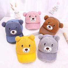 Mũ gấu có tiếng kêu cho bé từ 1-5 tuổi