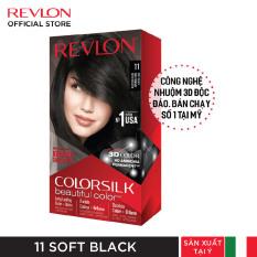 Nhuộm tóc thời trang thương hiệu số 1 tại Mỹ Revlon Colorsilk 3D Keratin cho tóc bóng mượt và óng ánh 120ml