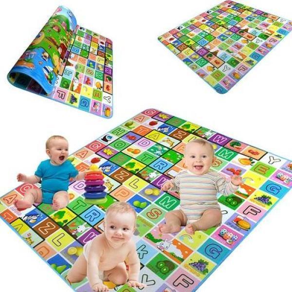 Báo giá [HOT SALE]Thảm chơi 2 mặt cỡ lớn cho bé Maboshi 1m8 x 2m, thảm chơi  cho bé, thảm xốp, thảm cho bé, thảm chống thấm chỉ 73.000₫ | Hàng Đồ