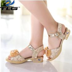 Sandal Hàn Quốc siêu dễ thương cho bé gái Đồ Da Thành Long TLG 20706
