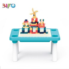 Bàn chơi lego đa năng, sáng tạo Learn Building Blocks 100 chi tiết để bé vui học