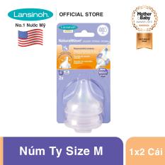 Núm vú Lansinoh size M (3-6 tháng tuổi +)