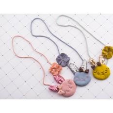 Vòng dây đeo cổ chú thỏ gắn nơ xinh xắn KTB012 pinkxinhdecor