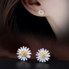 Bông tai nữ khoen nụ nhỏ đính đá cz zircon Siêu rẻ long lanh sang trọng phụ kiện thời trang Hàn Quốc Giá sỉ nhiều mẫu xinh đẹp