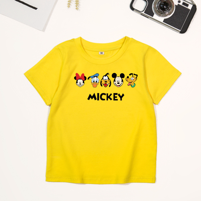 [HCM][size 5 – 90kg] áo thun vải xịn nam nữ | bé trai gái | áo hình chuột mickey | áo thun cặp nhóm áo thun mặc cho cả gia đình.